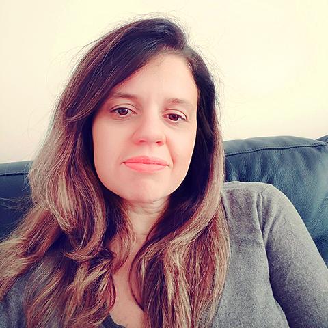 Foto da participante Fernanda Cristina Coelho.